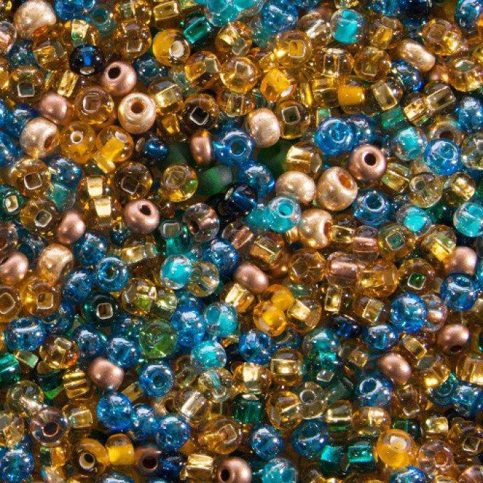 perle de rocaille taille
