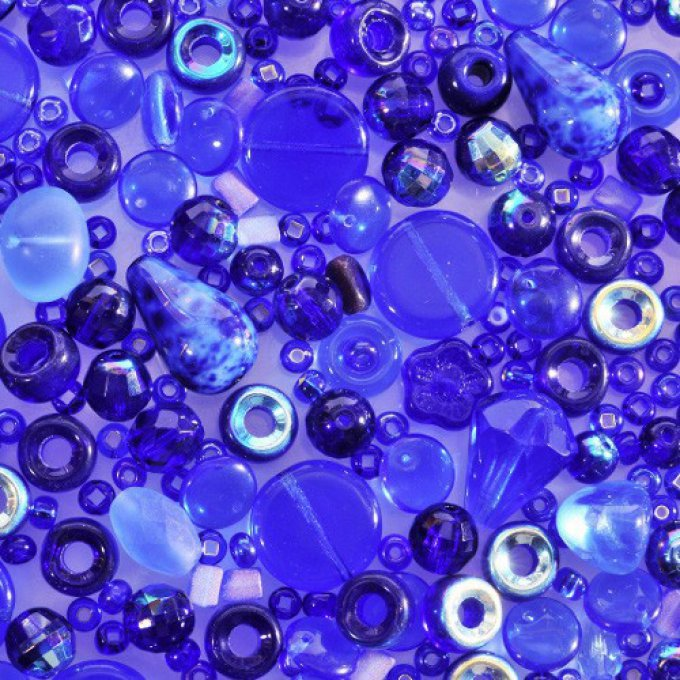 Magic Bead Mix  Indigo  (30g)
