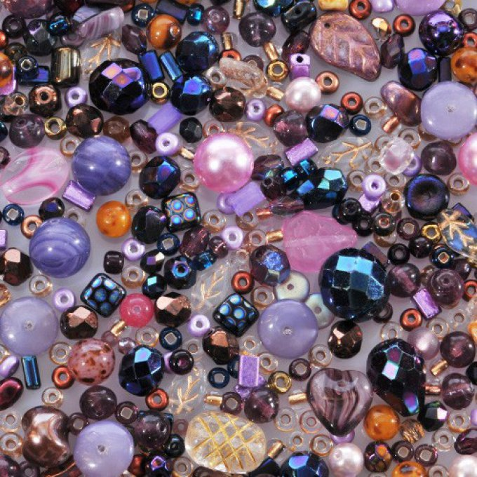Magic Bead Mix  Highland Heather   (30g)