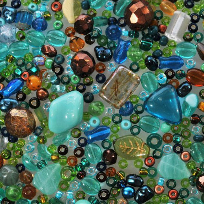 Magic Bead Mix  The sea  (30g)