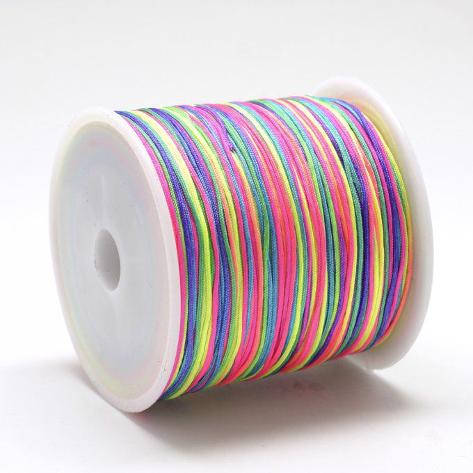 Fil nylon Ø 0.8mm multicolore