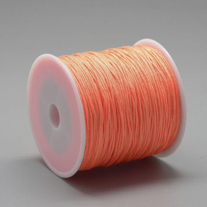 Fil nylon Ø 0.8mm orange