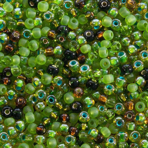 Rocaille Bead Mixes mélange Mountain Streem(x20g)