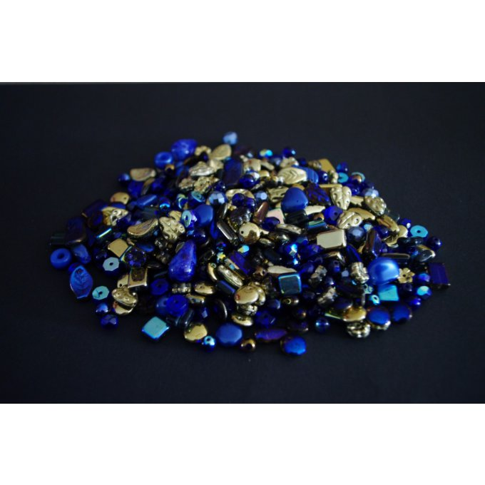 Pressed Bead Mixes Dark blue (30g)