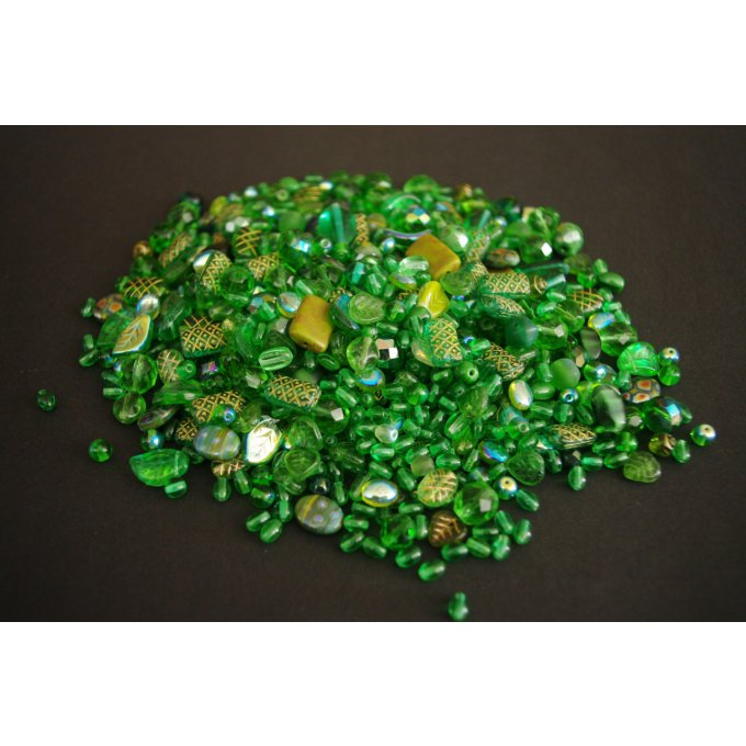 Pressed Bead Mixes Dark green (30g)