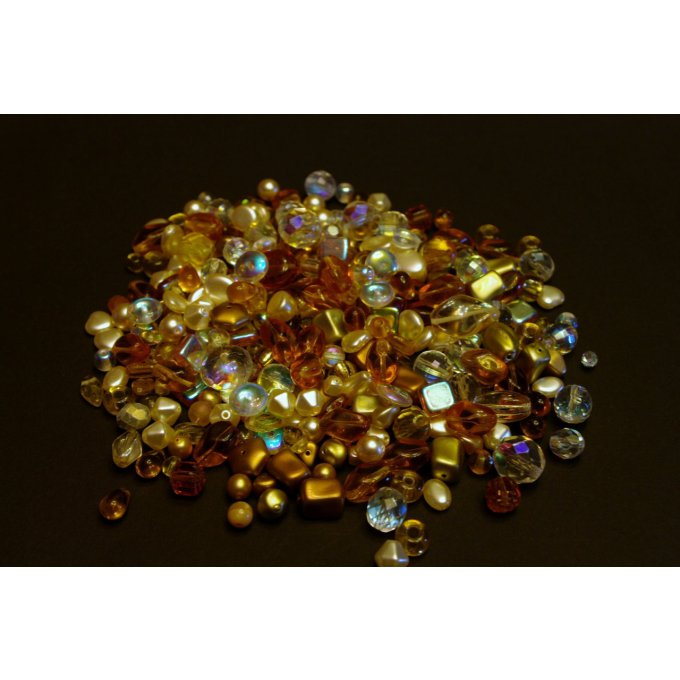 Pressed Bead Mixes Gold (30g)