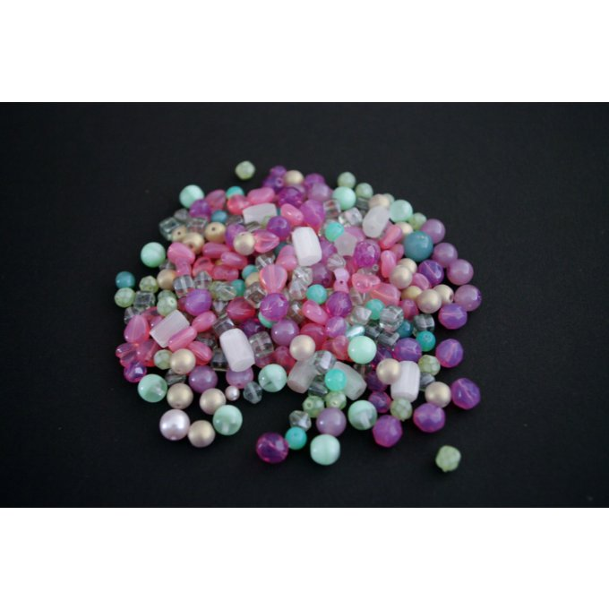 Pressed Bead Mixes Pastels (30g)